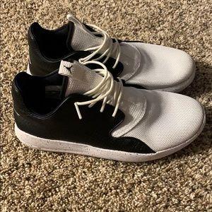Black & White AIR Jordan Eclipse Shoes Youth 5.5